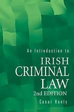 Introduction to Irish Criminal Law, Hanly, Conor, Good, Paperback