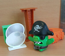 McDonalds Happy Meal Toy BNIP Mint ANGRY BIRDS Pirate Pig