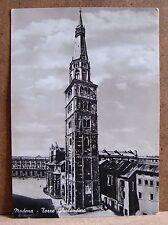 Modena - Torre Ghirlandina [grande, b/n, viaggiata]