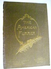 "July 1931 ""The American Furrier"" w/ Stunning Colored Plates of Furs And Hats"