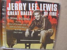 Jerry Lee Lewis - Great Balls of Fire CD album  16 tracks   mint