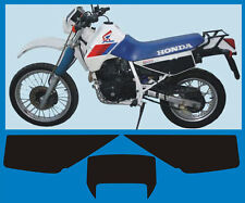 Honda XL 600 RM 1986/90 mod. Bianco tabelle - adesivi/adhesives/stickers/decal