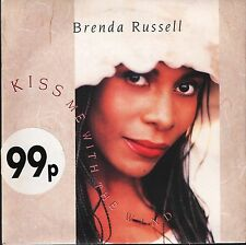 "BRENDA RUSSELL kiss me with the wind AM 578 uk a&m 1990 7"" PS EX/EX"