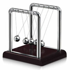 Newton's Cradle Steel Balance Ball Physics Science Pendulum Desk Fun Toy Gift