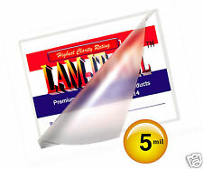 LAM-IT-ALL 5 Mil Hot 12x18 Menu Laminating Pouches 12 x 18 [100] for 11x17 Sheet