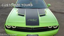 2015 Challenger custom stripe kit HOOD DECAL PACKAGE only ~ PICK YOUR COLOR!