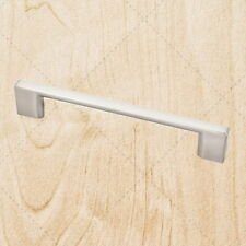 Kitchen Cabinet Hardware Square Bar Pulls ps35 Satin Nickel 128mm CC Handle