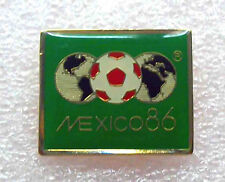 football soccer pin FIFA WORLD CUP  MEXICO 1986 official logo rare