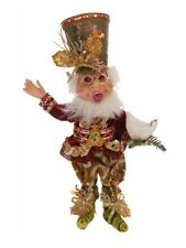 "Mark Roberts Three French Hens Elf, Sm 12"" - New - Free Shipping"