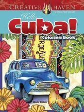 Adult Coloring: Creative Haven Hello Cuba! Coloring Book by Marty Noble...