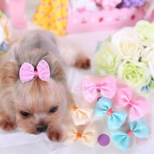 15PCS Pet Dog Hair Clips Bow Tie Dog Grooming Accessories Cute Bowknot For Dogs