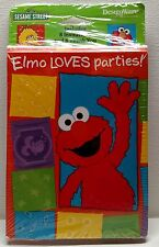 Sesame Street Birthday Invitations And Thank You Postcards Elmo Loves Parties!