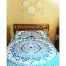 Indian Star Mandala Ombre Tapestry Bedcover Hippie Bohemian Bedspread Dorm Decor