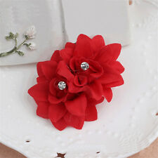 New Hair Clip Pin Barrette Bridal Flower Hairpin Wedding Hair Accessories Blue