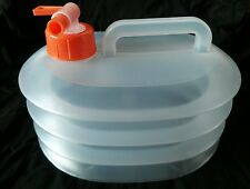 DAISO JAPAN Folding  Water Carrier Tank Storage 3 Liter for BBQ Sports Camping