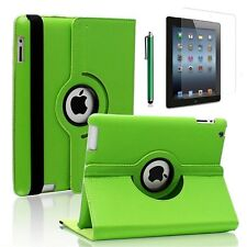 360 Rotating PU Leather Case Smart Cover w/ Stand for iPad / iPad Air / Mini