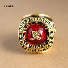 2008 WWE Hall OF FAME INDUCTION RING 24K GOLD PLATED SIZE 11.75