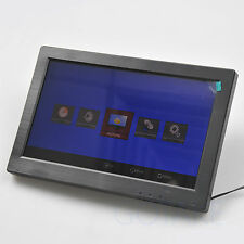 11.6 inch Wide Screen 16:10 1336x768 LCD Color Monitor BNC HDMI VGA RCA Audio