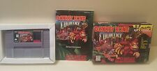 Donkey Kong Country Super Nintendo SNES Game Complete In Box