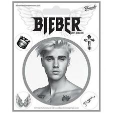 Official Licensed Product Justin Bieber Stickers Fan Self Adhesive Fun Gift New
