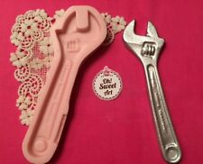 Hand Tool, Wrench, tools  Silicone Mold Food Safe decoration Cake  Cupcake