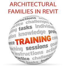 Famiglie architettoniche in REVIT-Video formazione tutorial DVD