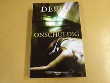 BOEK / DEFLO - ONSCHULDIG