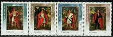 Canada #2383a 57¢ The Four Indian Kings MNH