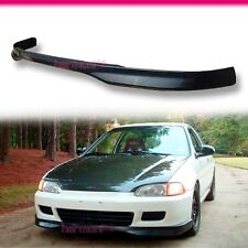 FOR 92-95 HONDA CIVIC EG HATCHBACK COUPE TYPE R FRONT BUMPER LIP SPOILER PU