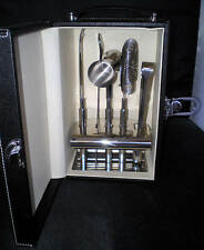 PORTABLE TRAVEL BAR MAD MEN LIQUOR CASE BAR TOOL SET