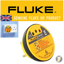 Fluke SM100 LED Professional Electrical Socket Master Tester - Test Mains Socket