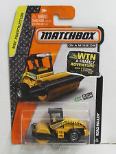 MATCHBOX 2013 ON A MISSION  ROAD ROLLER