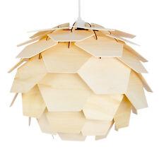 Modern Wooden Designer Artichoke Style Ceiling Pendant Light Lamp Shade Lights
