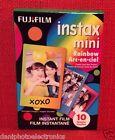 New FujiFilm Instax Mini Rainbow Instant Film