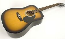 ACOUSTIC GUITAR STEEL STRING DREADNAUGHT SET-UP FOR EASY PLAY ON SALE 50% OFF