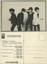 RARE / CARTE POSTALE - POSTCARD : GROUPE TELEPHONE / JEAN LOUIS AUBERT / PROMO