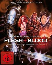 Mediabook FLESH & BLOOD Jennifer J. Leigh RUTGER HAUER LIMITATA BLU-RAY Box DVD