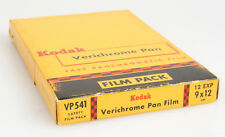 VINTAGE KODAK VERICHROME PAN 3 1/2 X 4 3/4 FILM BACK VP541 UNOPENED BOX