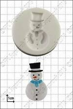 Silicone mould Snowman | Food Use FPC Sugarcraft FREE UK shipping!