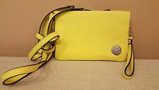 NWT Vince Camuto Cami Crossbody Leather Small Bag Golden Apple Yellow Green $128