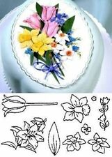 Spring Flower Set Patchwork Cutters sugarcraft NEXT DAY DESPATCH