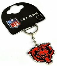 Chicago Bears NFL Crest metal / enamel Keyring  Licensed  (bb)