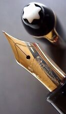 "stylo plume MONTBLANC 146 LeGrand plume ""F"" or 14K jaune S/N"