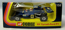 1974 Corgi Toys 158  Elf Tyre 11 Ford F1 Racing Car  - Boxed (1273)