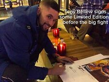 Signed By Tony Bellew  Stars in new CREED Film Nathan Cleverly v Tony Bellew 2