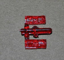 MPC 1/25 1975 DODGE DART SPORT HARDTOP REAR TAIL LIGHTS - 2 TOTAL PARTS!