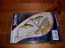 Sebile Pro Shad 1/2 oz Size Spinnerbait Fire Tiger Color Spinner Bait - NEW!