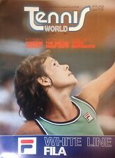 'Tennis World'UK Magazine- July 1978- Evonne Cawley- A3 Poster Vitas Gerulaitis