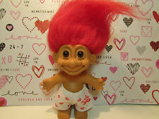 "100% HUGGABLE BOY IN BOXER SHORTS -  5"" Russ Troll Doll - NEW IN ORIGINAL BAG"