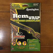 New Remington Rem Wrap Firearms Camouflage Mossy Oak Shadow Grass Gun Wrap 3M
